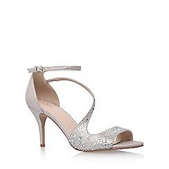 Carvela - Silver 'Keo' high heel sandals