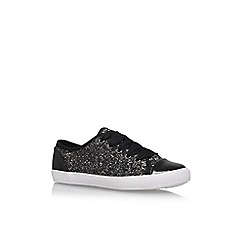 Carvela - Black 'Jaspy' Flat Lace Up Sneakers