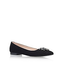 Carvela - Black 'Manic' flat pumps
