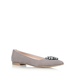 Carvela - Grey 'Manic' flat pumps