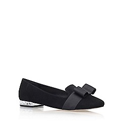 Carvela - Black 'Molten' flat pumps