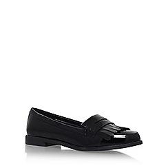 Miss KG - Black 'Nina' Flat Slip On Loafers