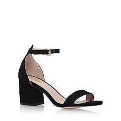 Carvela - Black 'Loop' High Heel Sandals