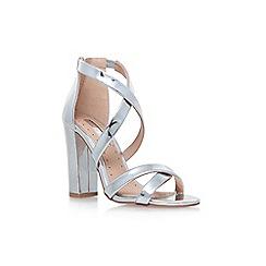 Miss KG - Silver 'Sian' high heel sandals