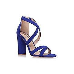 Miss KG - Blue 'Sian' high heel sandals