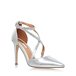 Miss KG - Silver 'Shelby' High Heel Sandals