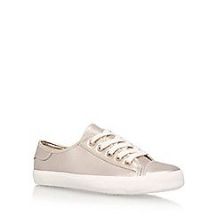 Miss KG - Grey 'Kali' Flat Lace Up Sneakers