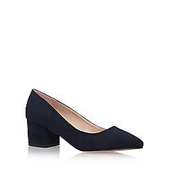 Carvela - Blue 'Knock' Mid Heel Court Shoes