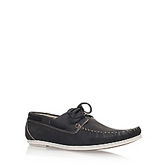 KG Kurt Geiger - Black 'Barry' slip on loafer