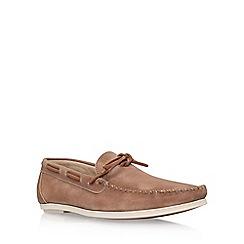KG Kurt Geiger - Brown 'Paul' slip on loafer