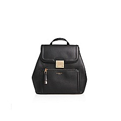 Carvela - Black 'Minnie' Rucksack Handbag With Shoulder Straps