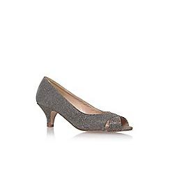 Solea - Grey 'Annabel' Low Heel Sandals