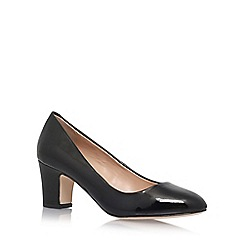 Carvela - Black 'April' high heel court shoes