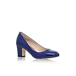 Carvela - Blue 'April' high heel court shoes