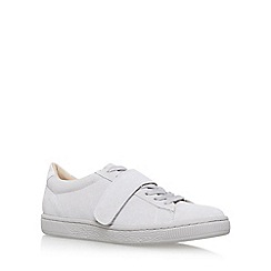 KG Kurt Geiger - Grey 'Lollipop' Flat Lace Up Sneakers