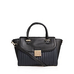Carvela - Black 'Melissa' Lock Tote Handbag With Shoulder Straps