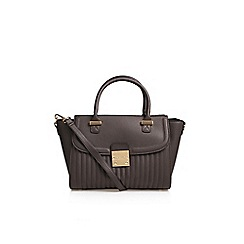 Carvela - Brown 'Melissa' Lock Tote Handbag With Shoulder Straps