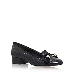 Carvela - Black 'Language' Low Heel Slip On Loafers