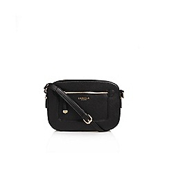 Carvela - Black Mia Zip X Body Bag Handbag With Shoulder Straps