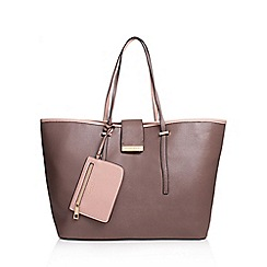 Carvela - Brown 'Mollie' Shopper Handbag With Shoulder Straps