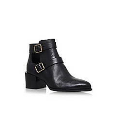 Nine West - Black 'Evalee' high heel ankle boots