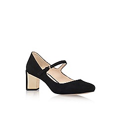 Nine West - Black 'Fadilla' mid heel court shoe