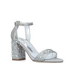 Carvela - Grey 'Gigi' mid heel sandals