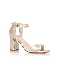 Carvela - Gold 'Gigi' High Heel Sandals