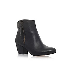 Nine West - Black 'Hannigan' high heel ankle boots