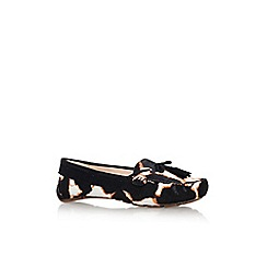 Nine West - Black 'Begone5' flat loafers