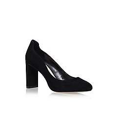 Nine West - Black 'Journa' high heel court shoes