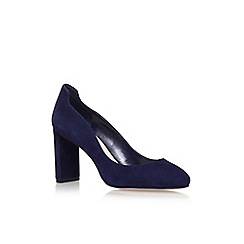 Nine West - Blue 'Journa' high heel court shoes