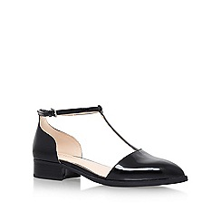 Nine West - Black 'Nanda3' low heel sandals