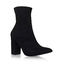 Carvela - Black 'Syndrome' high heel ankle boots