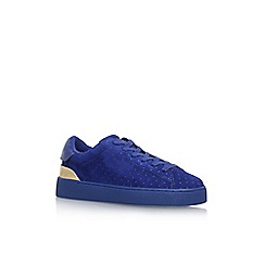Nine West - Blue 'Palyla' Flat Lace Up Sneaker