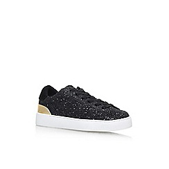 Nine West - Black 'Palyla8' Flat Lace Up Sneaker