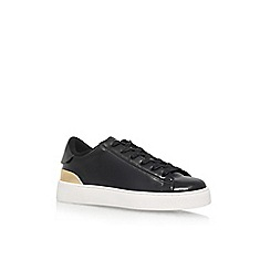 Nine West - Black 'Palyla3' Flat Lace Up Sneaker