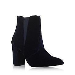Carvela - Blue 'Gorki' high heel ankle boots