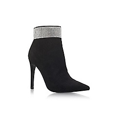 Carvela - Black 'Gentry' high heel ankle boots
