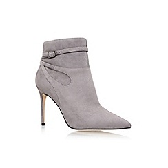 Nine West - Grey 'Tanesha' high heel ankle boots