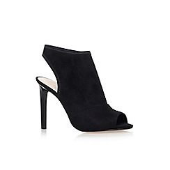 Nine West - Black 'Levona2' high heel shoe boots