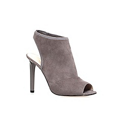 Nine West - Grey 'Levona2' high heel ankle boots