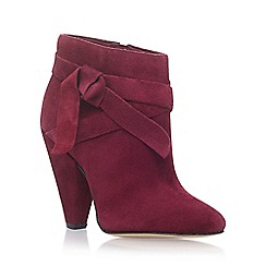 Nine West - Red 'Acesso' high heel ankle boots