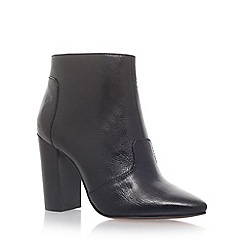 Nine West - Black 'Hyra' high heel ankle boots