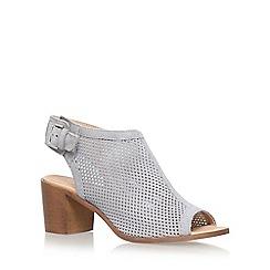 Carvela - Grey 'Audrey' high heel sandals