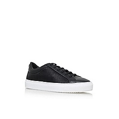 KG Kurt Geiger - Black 'Bowden' Flat Lace Up Sneakers