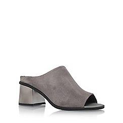 Carvela - Grey 'Kassidy' high heel sandals