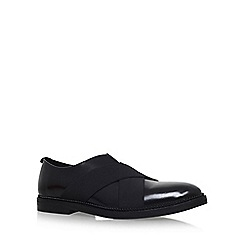 KG Kurt Geiger - Black 'Andre' flat lace up shoe