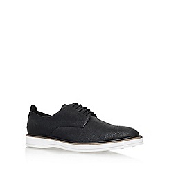 KG Kurt Geiger - Black 'Ziggy' flat lace up shoe