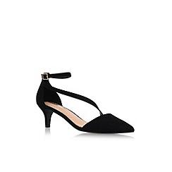 Miss KG - Black 'Archer' mid heel sandals